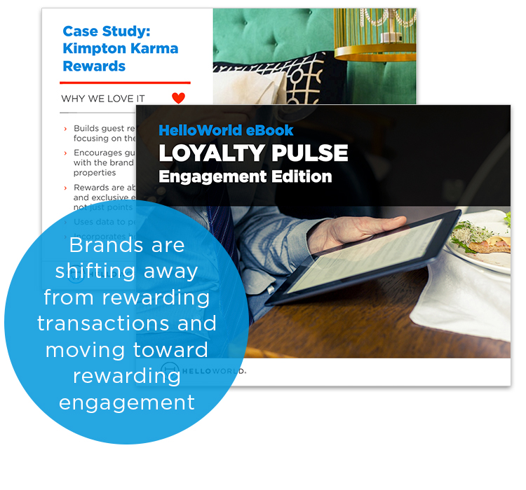 Brands are shifting away from rewarding transactions and moving toward rewarding engagement.