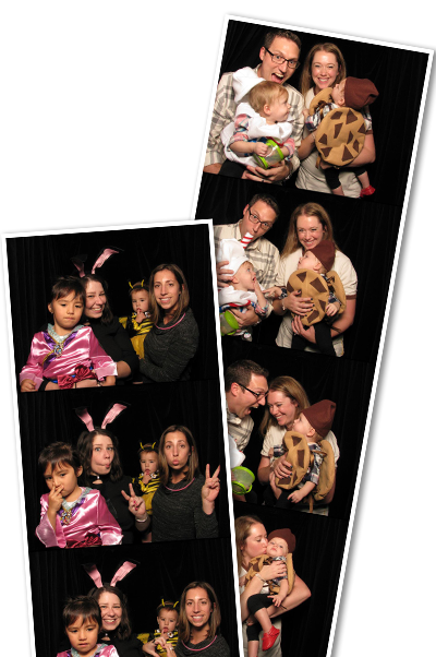 HelloWeen photobooth strip