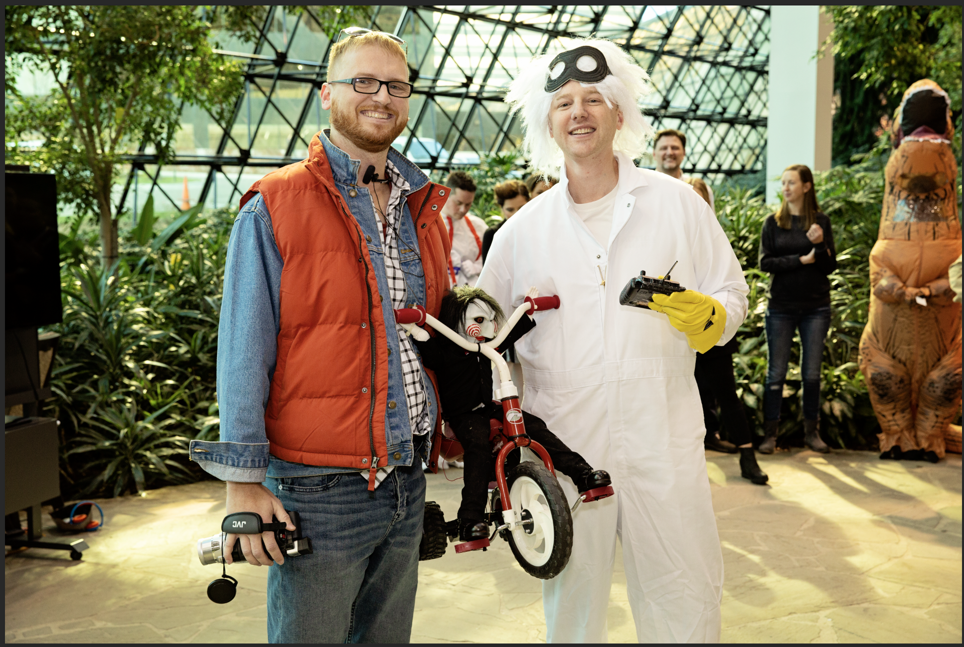 Dupont brothers back to the future halloween costume
