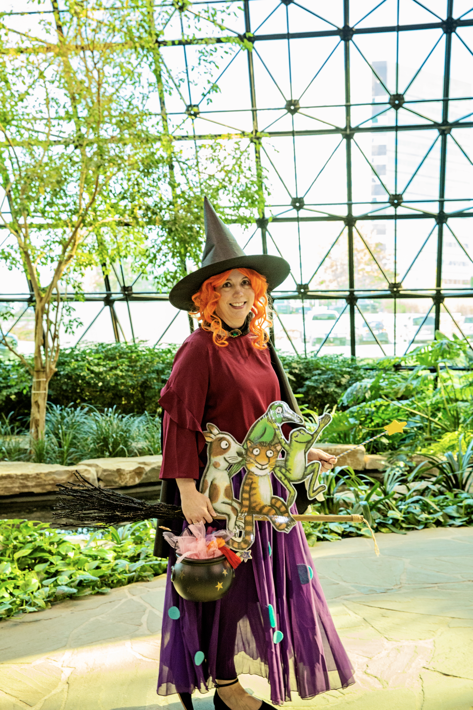 Kimberly F. The Witch from Room on the Broom Halloween Costume
